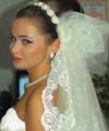 Düğün için Topuz saç alternatfleri
