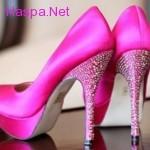 2014 Renkli Gelinlik Ayakkabı Modelleri