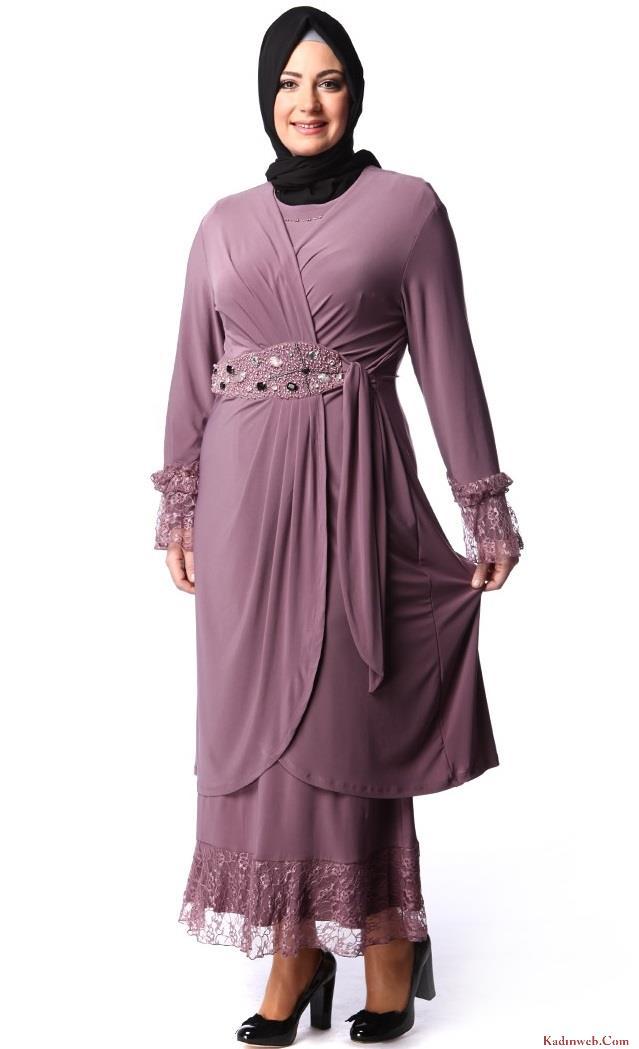 2014-Büyük-beden-tesettür-elbiseler